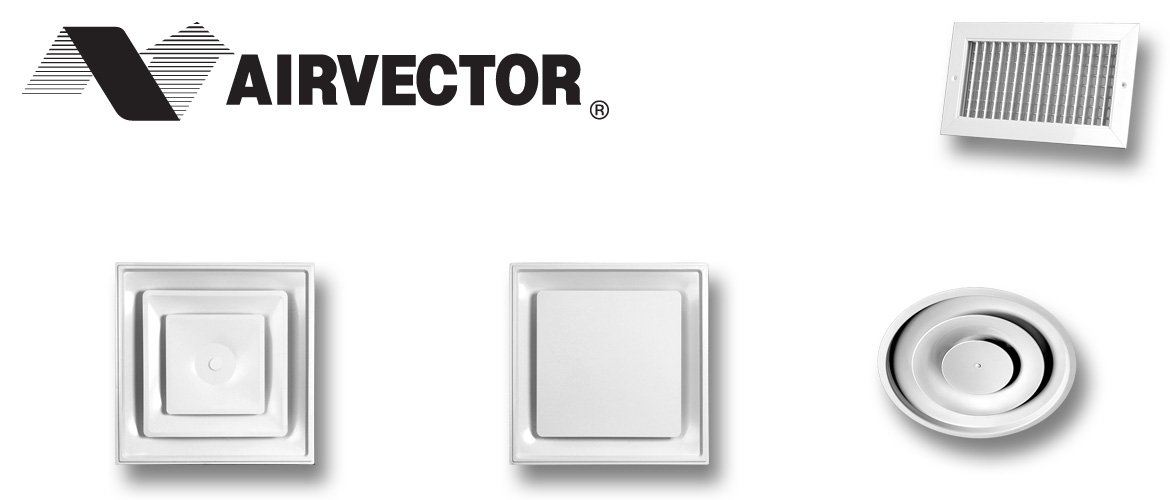 Airvector Grilles, Registers and Diffusers